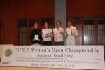 全米女子OP日本地区最終予選通過者の4人。(提供:すべて日本ゴルフ協会)