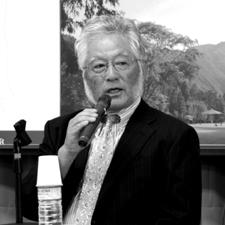 世界に通用するプロを育てるためのコースづくりを    と話す大西久光氏