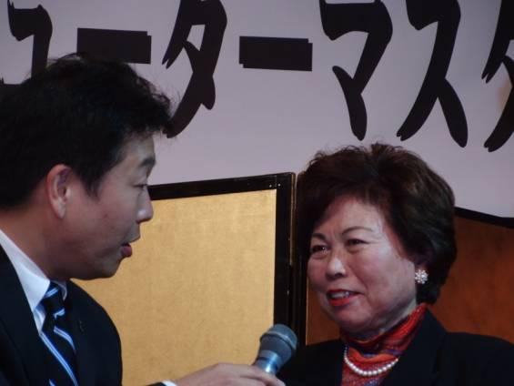 シニア女子チャンピオンの渡部智美恵さん