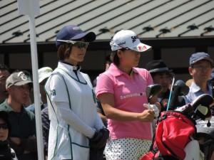 勝みなみは今季女子ツアー10試合に出場、トップテンに2度入った。