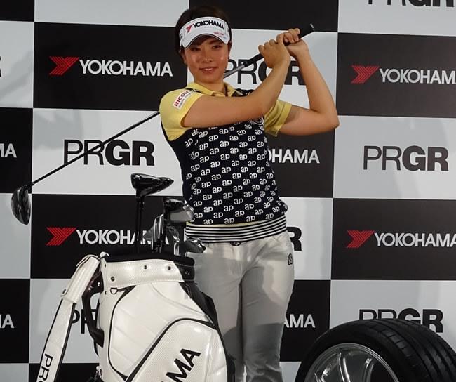 今年2月にゴルフブランド「PRGR(プロギア)」の横浜ゴムとクラブ用品契約した森田理香子。″世界規模の広告塔〝と持ち上げられ、クラブも一新して「今季は3勝してメジャーにも勝ちたい」と抱負を語ったのだが・・・。