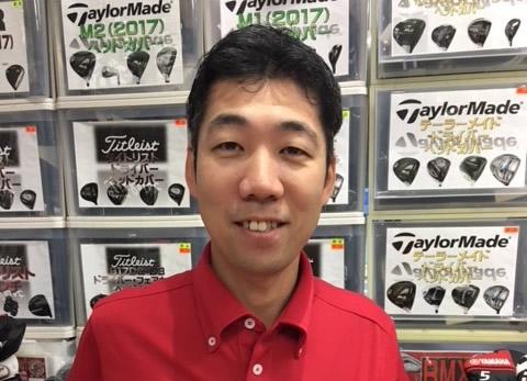 フェスティバルゴルフ 新宿WING店の店長、藤川清幸氏